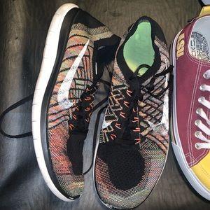 Nike Flyknit 4.0 size 13 multicolor